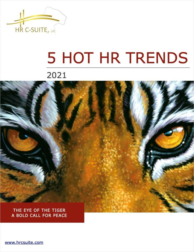 5 HR Strategy Trends for 2021